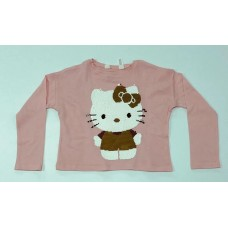 Hello Kitty Pembe Sweat-210