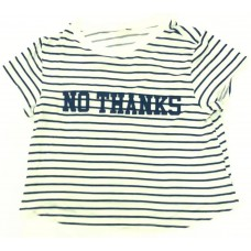 No Thanks Baskılı T-Shirt - 458